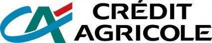 free vector Credit agricole logo