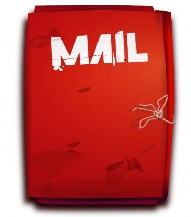 Mail Folder clip art