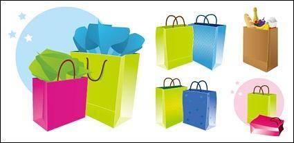 free vector Shopping bag colorfull