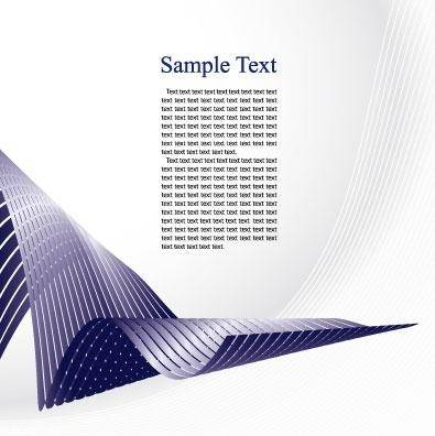free vector Curved metal strips