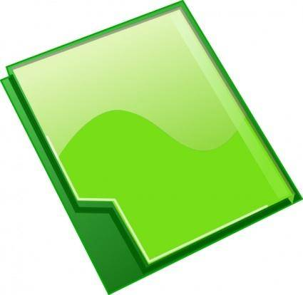 Closed Folder clip art