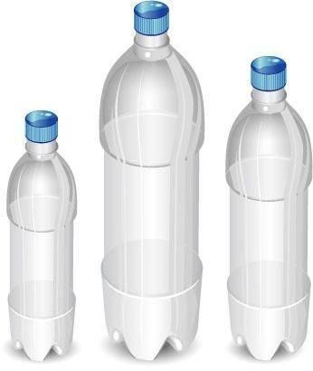 free vector Plastic bottles