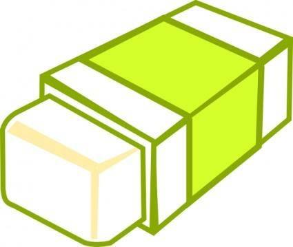 free vector Rubber Eraser clip art