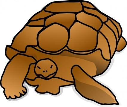 free vector Turtle_01 clip art