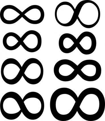 Infinity Symbol clip art