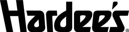 free vector Hardees restaurants logo