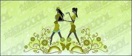 Vector material girl friendship 121124