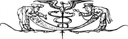 free vector Bill Of Fare clip art