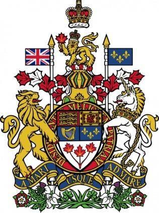 Coat Of Arms Of Canada clip art