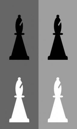 Chess Set Bishop clip art