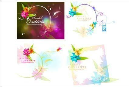 free vector Dream Flower Vector-1