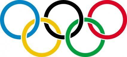 Olympic Rings clip art