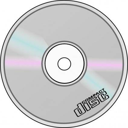 free vector Compact Disc clip art