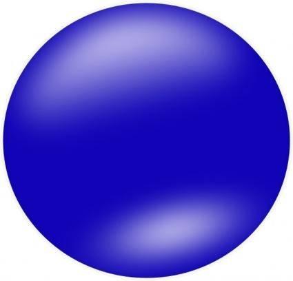 free vector Nlyl Blue Circle clip art