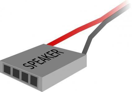 Speaker Plug clip art
