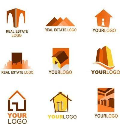 free vector Collection of real estate logos