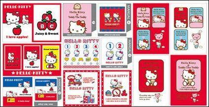 Hello kitty official Vector