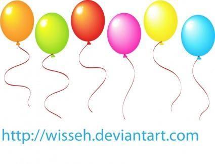 free vector Balloons