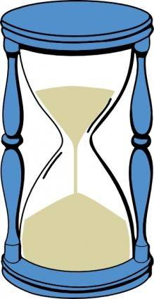 free vector Hourglass With Sand clip art