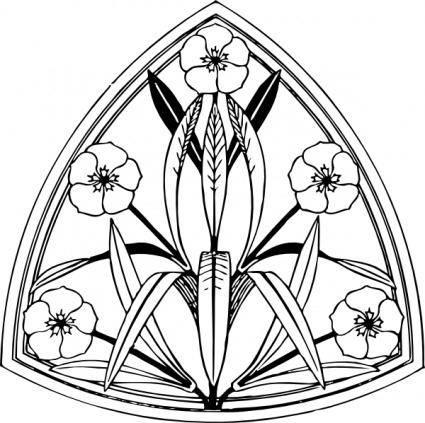 Oleander Design clip art