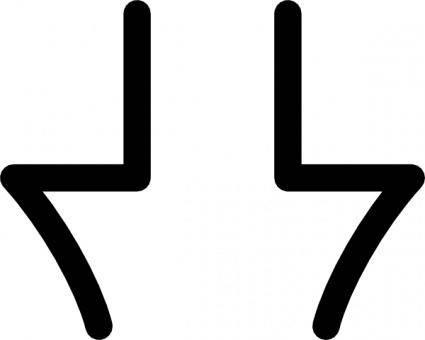 free vector Takigakure Symbol clip art