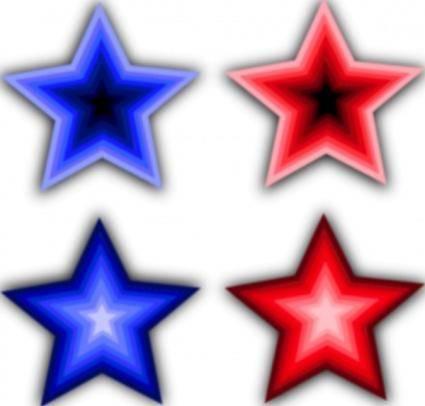 Four Stars clip art