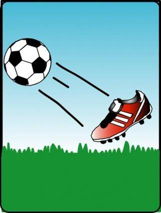 Sweet Soccerball clip art