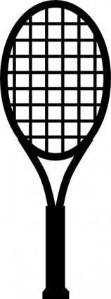 free vector Tennis Racket clip art
