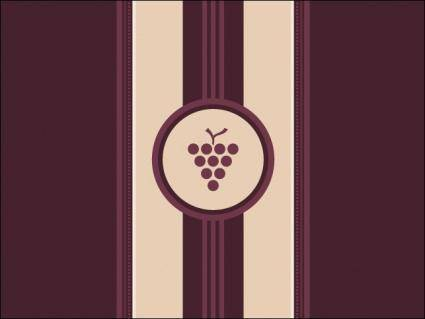 free vector Wine Label