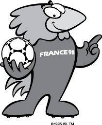free vector Logo of FRANCE98 (Soccer)