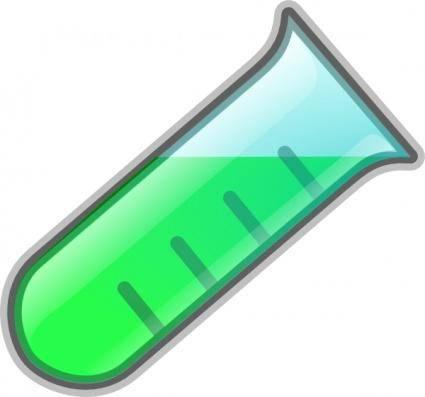 Test Tube Icon clip art