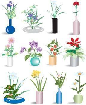 free vector Vaza Flower 17