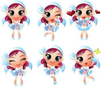 free vector Childs Vector 7