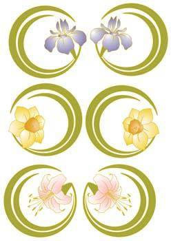 free vector Flower of Seven color 44