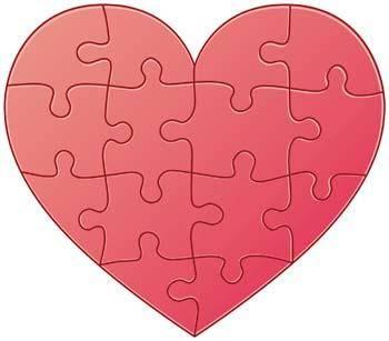 Heart vector 85