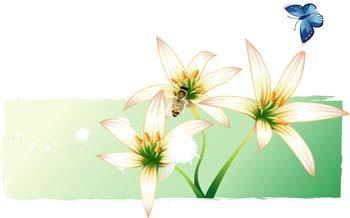 free vector Lili Flower vector 5