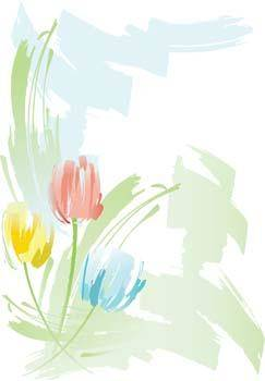 free vector Tulip Flower 18