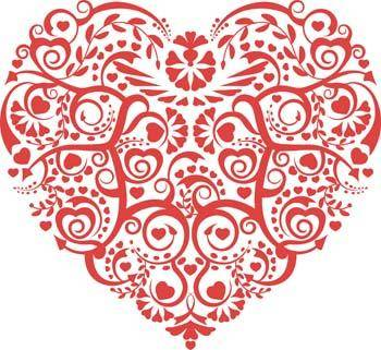 Heart vector 97
