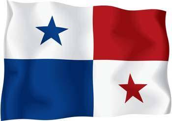 Panama Flag Vector