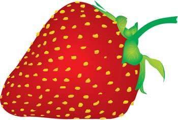 free vector Strawberry 2