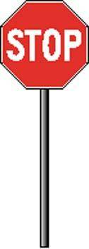 Sign Board Vector 518