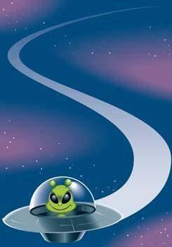 free vector UFO vector