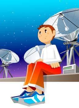 Cosmonaut vector 3