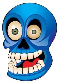 Skull health vector 2