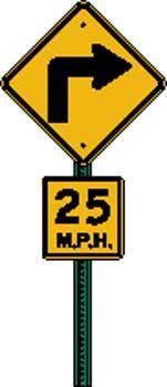 Sign Board Vector 447