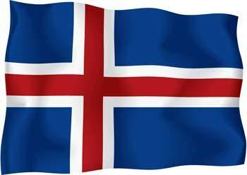 free vector Iceland Flag Vector