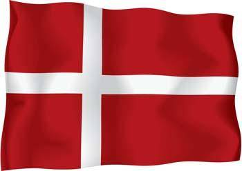 free vector Denmark Flag Vector