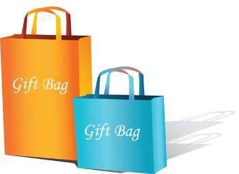 free vector Gift Bag