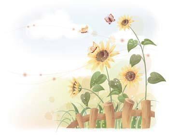 free vector Podsolnuh Flower 10