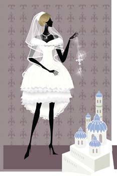 free vector Bride 5